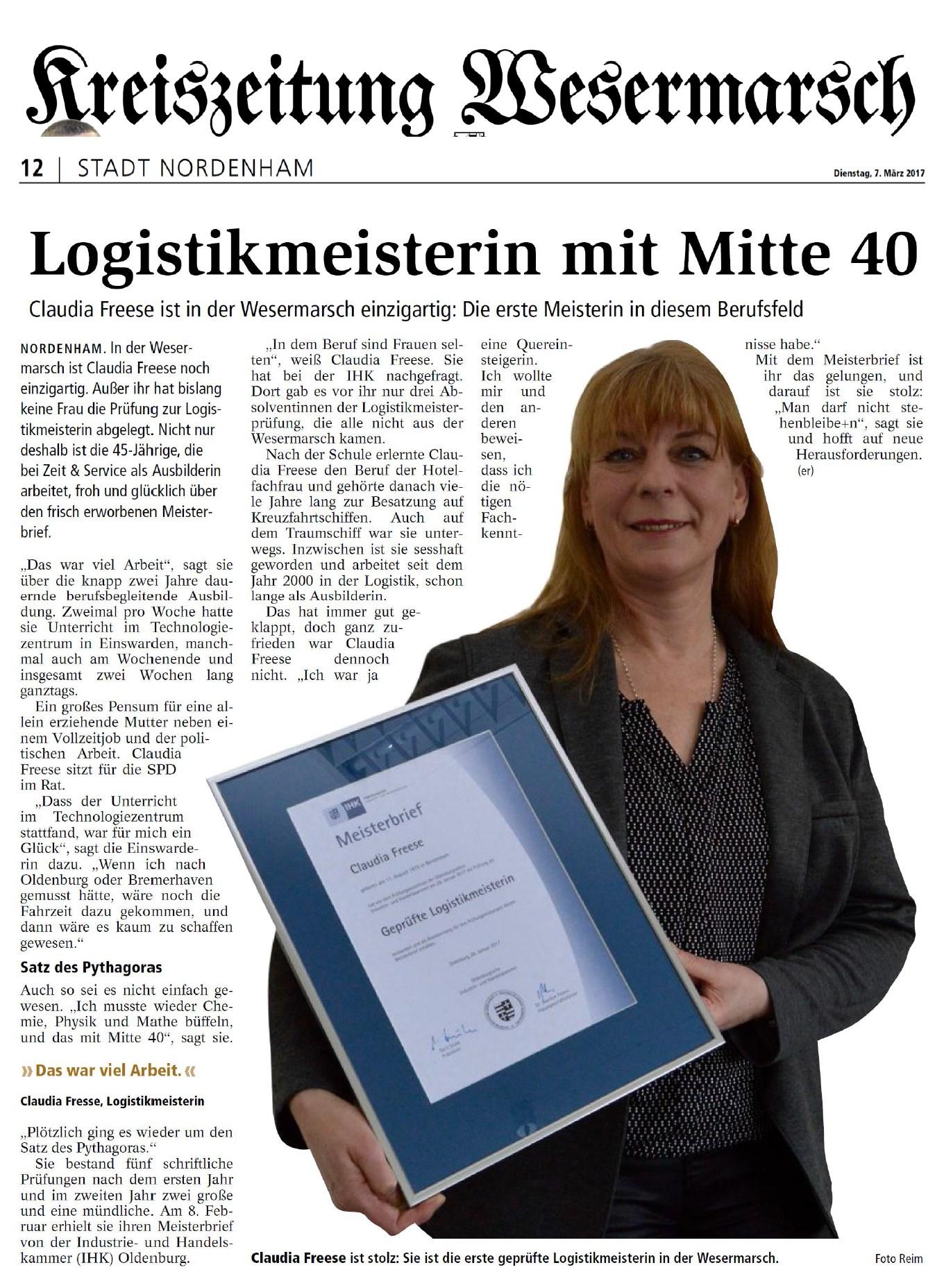 kreiszeitungwesermarsch