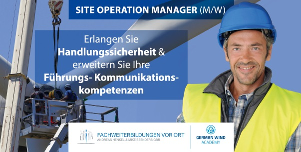 Site Operation Manager - Handlungssicherheit Führungs- Kommunikations- kompetenzen